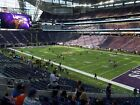 2 Sec 124 Lower End Zone Super Bowl 52 Tickets Minneapolis 2/4/18
