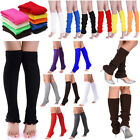 Внешний вид - High Socks For Women Stocking Cover Shoes Boot Heel 80S Leg Knitted Legging