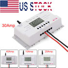 10 20 30 40 Amp Solar Charge Controller MPPT 12 24V Three time Timer with USB CM