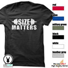 SIZE MATTERS Gym Rabbit T-Shirt Workout Gym BodyBuilding Weightlifting c749 image
