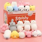 10/20PCS NEW Mochi Squishy Toys Satkago Mini Squishies Mochi Animals Stress Toys