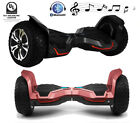 8.5 inch Electric Scooter Bluetooth 2 Wheel Off-Road UL2272 Certified Red Black