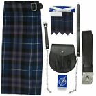 Tartanista Honour Of Scotland Tartan 5 pc Outfit - Kilt Sporran Pin Belt Flash