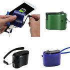 USB Portable Hand Crank Emergency Dynamo Charger Generator For Mobile Phone GIFT