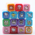 JAPAN SANRIO KITTY MY MELODY POM POM PURIN CINNAMOROLL MINI STAMPS AND BOX