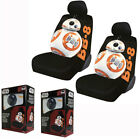 New Star Wars The Force Awakens BB-8 Front Pair Low Back Car Seat Covers $52.98 USD on eBay