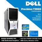 Dell Precision T3500 Desktop PC Intel Xeon W3530, Customisable, Windows 10 Pro