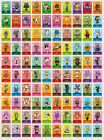 ANIMAL CROSSING AMIIBO SERIES 4 CARDS- ALL CARDS 301 > 400 -NINTENDO 3DS & WII U