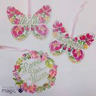 Gisela Graham Sweetpea Floral Wooden Fretwork Home Decoration Mothers Day Gift