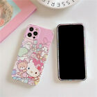 Cartoon Disney Minnie Piglet Tempered Glass+case cover for iphone X 8 7 6S plus