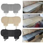 pu seat cover - Car Front Seats Cover PU Leather Bamboo Single Bucket Seat Protector Cushion Mat