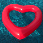 Inflatable Giant Heart Swim Ring Float Raft Swimming Pool Beach Valentine Gift