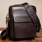 Men's Genuine Leather Messenger Bags  Shoulder Bag Tote Hand