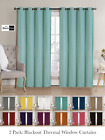 Kyпить 2 Pack: Hotel Thermal Grommet 100% Blackout Curtains - Assorted Colors & Sizes на еВаy.соm