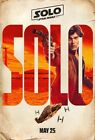 (1) Solo A Star Wars Story Poster Movie Characters 2018 New Han Solo Film Print $12.99 USD