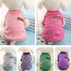 Dog Winter Warm Sweater Small Pet Coat Clothes Puppy Cat Jacket Apparel Custome