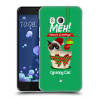 OFFICIAL GRUMPY CAT CHRISTMAS HARD BACK CASE FOR HTC PHONES 1