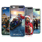 OFFICIAL LONELY DOG CHRISTMAS HARD BACK CASE FOR APPLE iPOD TOUCH MP3