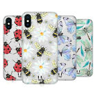 HEAD CASE DESIGNS WATERCOLOUR INSECTS HARD BACK CASE FOR APPLE iPHONE PHONES