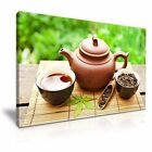 Mordern Art Teapot Canvas Framed Print  5 Sizes Choose