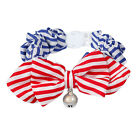 Cat Collar With Bell Multicolour Polka Dot Striped Pet Bowtie Fashion Accessory