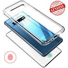 For Samsung Galaxy S9 S9+ Clear Case Full Protection Cover Tempered Glass Hybrid