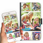 5 IMAGE PERSONALISED CUSTOM DELUXE COLLAGE ON A LEATHER PU MOBILE PHONE CASE