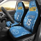 Denver Nuggets pair of car seat Covers customizable on eBay