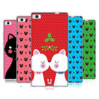 HEAD CASE DESIGNS CHRISTMAS CATS SOFT GEL CASE FOR HUAWEI PHONES