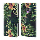 HEAD CASE DESIGNS TROPICAL PRINTS LEATHER BOOK WALLET CASE FOR SAMSUNG PHONES 1