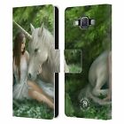 OFFICIAL ANNE STOKES MYTHICAL CREATURES LEATHER BOOK CASE FOR SAMSUNG PHONES 2