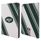 OFFICIAL NFL 2017/18 NEW YORK JETS LOGO LEATHER BOOK WALLET CASE FOR APPLE iPAD