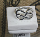 Solid Sterling Silver Hypoallergenic Rhodium Plated My Precious Daughter Ring