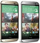 HTC One M8 32GB Gray Silvert Gold AT&T + GSM Unlocked 4G LTE Smartphone Used
