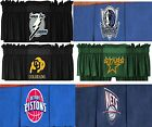 NBA NHL Window Valances - Sports Logo Team Pistons Nets Stars Maverick Buffaloes $19.99 USD on eBay