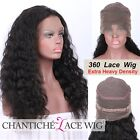 Deep Wave 360 Lace Wig Pre Plucked Indian Remy Hair 360 Human Hair Lace Wigs 150