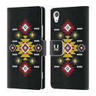 HEAD CASE DESIGNS NEO NAVAJO LEATHER BOOK WALLET CASE COVER FOR SONY PHONES 1