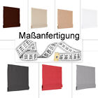 Massanfertigung Basic Cortina Romana Estor Plegable Persiana Gris Blanco Choco