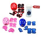 Kids Child Protective Helmet Knee Elbow Wrist Guard Pad Set Bike Bicycle Cycling
