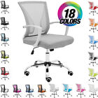Внешний вид - NEW! ZUNA OFFICE DESK CHAIR - MID-BACK MESH TASK CHAIR - ADJUSTABLE HEIGHT