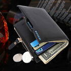 male coin purse - Men Leather Wallet Coin Purse credit Card holders Clutch Bifold Pocket Billfold