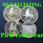 1971 - 2018 Royal Mint Proof + BU Crowned Lion / Shield Ten 10p Pence Coin