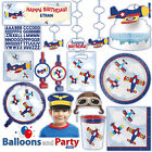 plates for decoration - Lil' Flyer Airplane Baby Shower Birthday Party Tableware Decorations Supplies