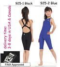 Yingfa 925 one piece racing swimsuit FINA approved for girls