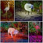 Garden Silhouette Solar Power Lights Ornamental Animal LED Lights Outdoor Garden
