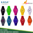 Ice Cool Color Watch Unisex Women Mens Kids Watch Wrist Silicone / Plastic