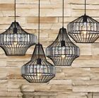 Crystal Pendant Light Contemporary Nordic Industrial Style Chandelier