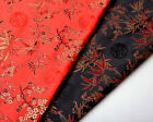 "WHOLESALE! BY 400CM X 28"" SILK DAMASK BROCADE FABRIC: CHINESE BAMBOO & DRAGON"