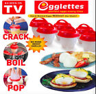 Home Garden - Egglettes Egg Cooker Hard Boiled Eggs without the Shell 6 Egg Cups As Seen On TV