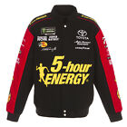 2018 Martin Truex Jr JH Design 5 Hour Energy Full-Snap Cotton Uniform Jacket
